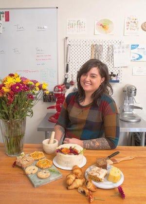 Pastry chef Isabella Bonello, owner of Three Bites Bakery