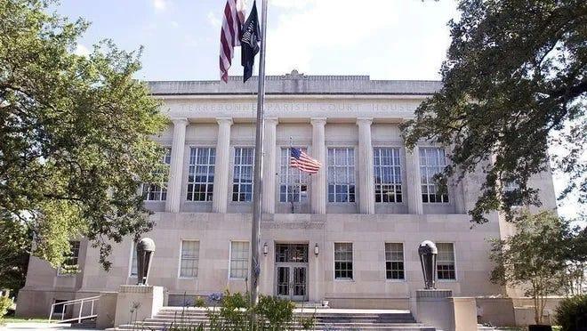 Terrebonne Parish courthouse.