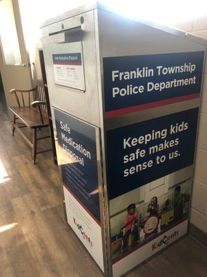 The KidCents Medication Disposal Box in the Franklin Township Municipal Building, sponsored by the Rite Aid Foundation, will allow residents to safely get rid of unwanted and expired household pharmaceuticals that pose a risk to children.