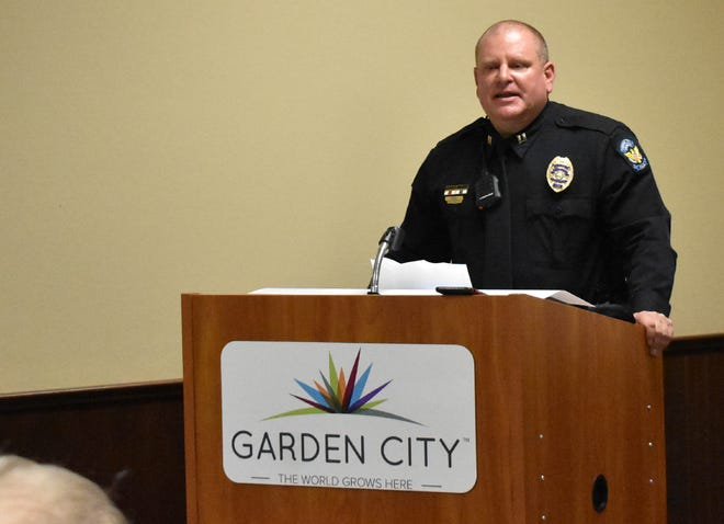 Courtney Prewitt has began his new position as Chief of Police for the Garden City Police Department.