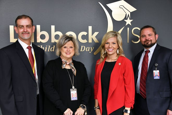 From left to right: Kevin Booe, Ann Archer, Jaci Underwood and Dr. Gabe Gillespie