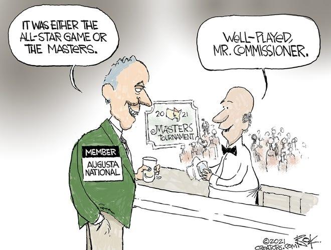 Today's editorial cartoon (April 9, 2021)