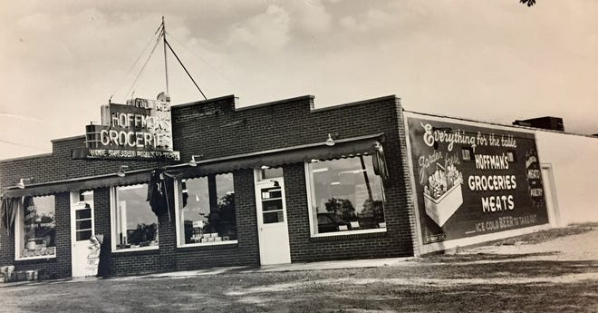 Hoffman's Groceries and Meats on N. Dixie Hwy., shown here in the 1950s, slaughtered its own beef, veal, hogs, sheep, chickens, turkeys, ducks and geese.