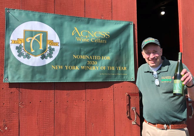 This weekend marks the official opening of Agness Wine Cellars in Wayne County, and Randy Agness couldn't be happier.