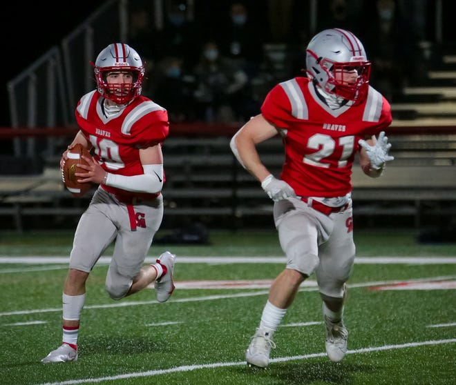 Canandaigua and quarterback Bryan Boldrin have a tough test in a big game against Greece Athena on Monday.