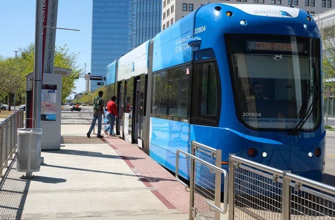 The Oklahoma City Streetcar is an element in a broad regional transit plan to connect Tinker Air Force Base, Will Rogers World Airport, western suburbs, Norman, Midwest City, Del City, Moore, Edmond and downtown.