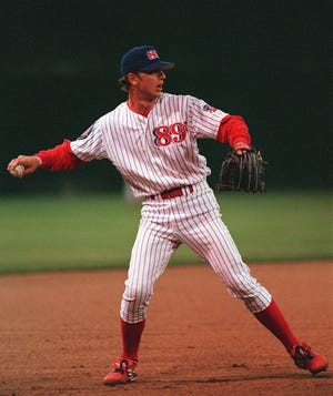 Mike Bell, who played 93 games with the Oklahoma City 89ers in 1997, batting .235 with five homers, died March 26.