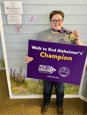 Mikaela Saunderson is dedicated to helping patients with Alzheimer's disease and dementia.