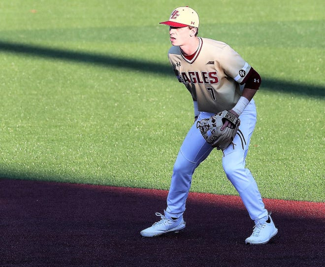 Cody Morissette, a 2018 graduate of Exeter High School and junior at Boston College, is listed as one of the top prospects in this year's MLB Draft.
