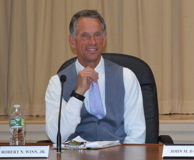 Ogunquit Select Board member Bob Winn, pictured here in 2018, seemed surprised Tuesday, April 6, 2021, when he learned scholarships would be awarded in his honor annually to Wells High School students.