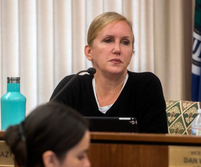 Stockton City Councilwoman Christina Fugazi in 2020.