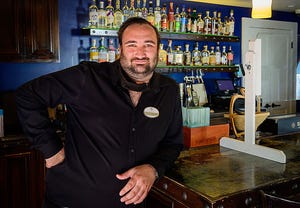John Radtke is the lead bartender at the Collector Luxury Inn & Gardens in St. Augustine.