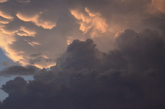 Storm clouds over Shawnee. SNS FILE PHOTO