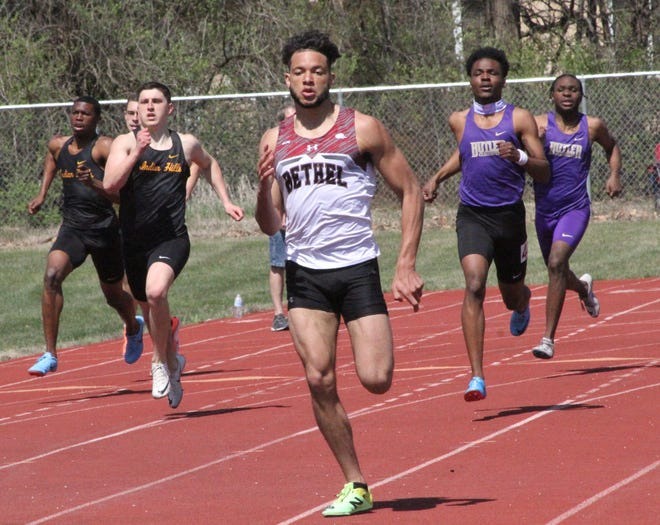 Former Tecumseh High School track standout Braylen Brewer is excelling  at Bethel College in Kansas.