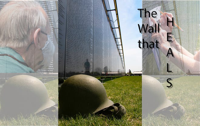 The Wall that Heals will be open to the public 24 hours a day through Sunday at 2 p.m.