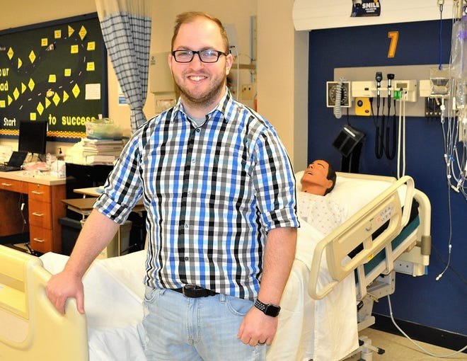 Kent State University at Tuscarawas nursing student Andrew Loos has been selected to serve on a national COVID vaccination committee.