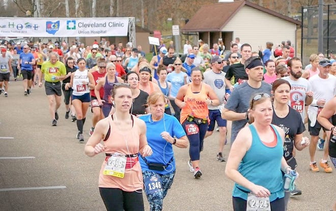 The Cleveland Clinic Union Hospital Run for Home will be held in New Philadelphia and Dover on Saturday and Sunday.