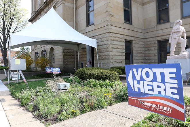 Many candidates and issues will be on the November general election ballot in Tuscarawas County.  (TimesReporter.com / Jim Cummings)