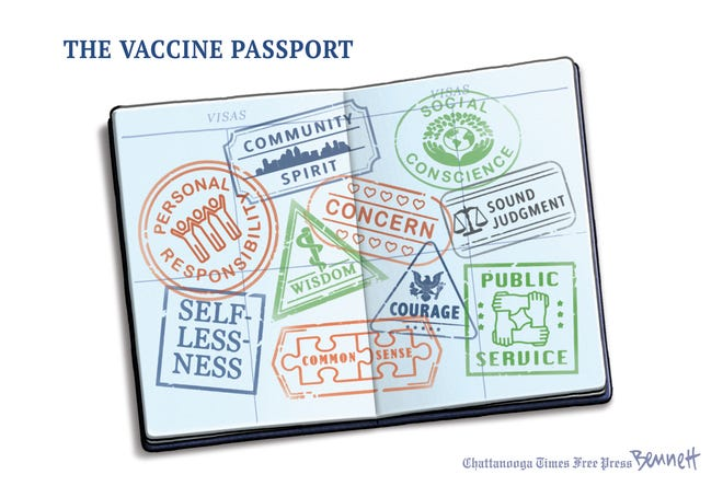 The real reasons for a vaccine passport...