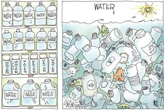 Water, water everywhere.