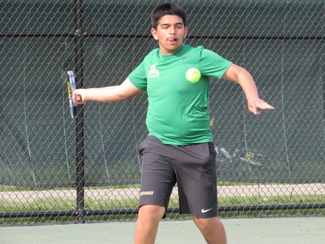 Sophomore Rohan Athavale is playing third singles for Jerome. The Celtics are coming off a 2019 season in which they reached a Division I district final in the OTCA tournament for the first time and finished 17-2.