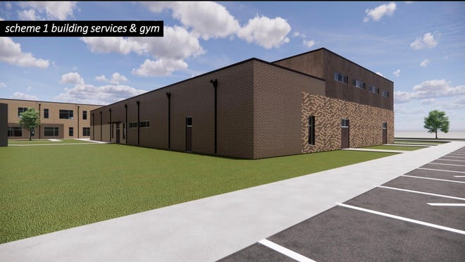 A rendering of Finneytown Local School District's new elementary school, to open in 2022.