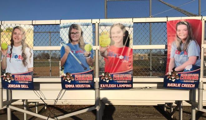 Conner's four softball seniors for 2021