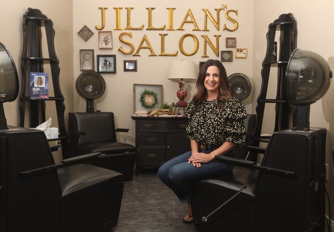 Janelle Given named Jillian's Salon in Coshocton after he daughter.