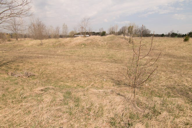 Land northwest of the intersection of Highland and Oak Grove roads, shown Thursday, April 8, 2021, has been sold for development of affordable apartment housing in Howell.