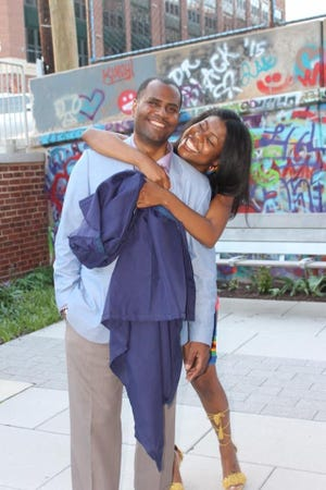 Ceasar Stinson is shown with his daughter, Cearra Stinson. Ceasar Stinson was killed in a car crash downtown on Jan. 25, 2020. Sheriff's deputy Joel Streicher was charged with homicide by negligent operation of a vehicle in connection with the accident, resigned from the sheriff's office and pleaded guilty in January.