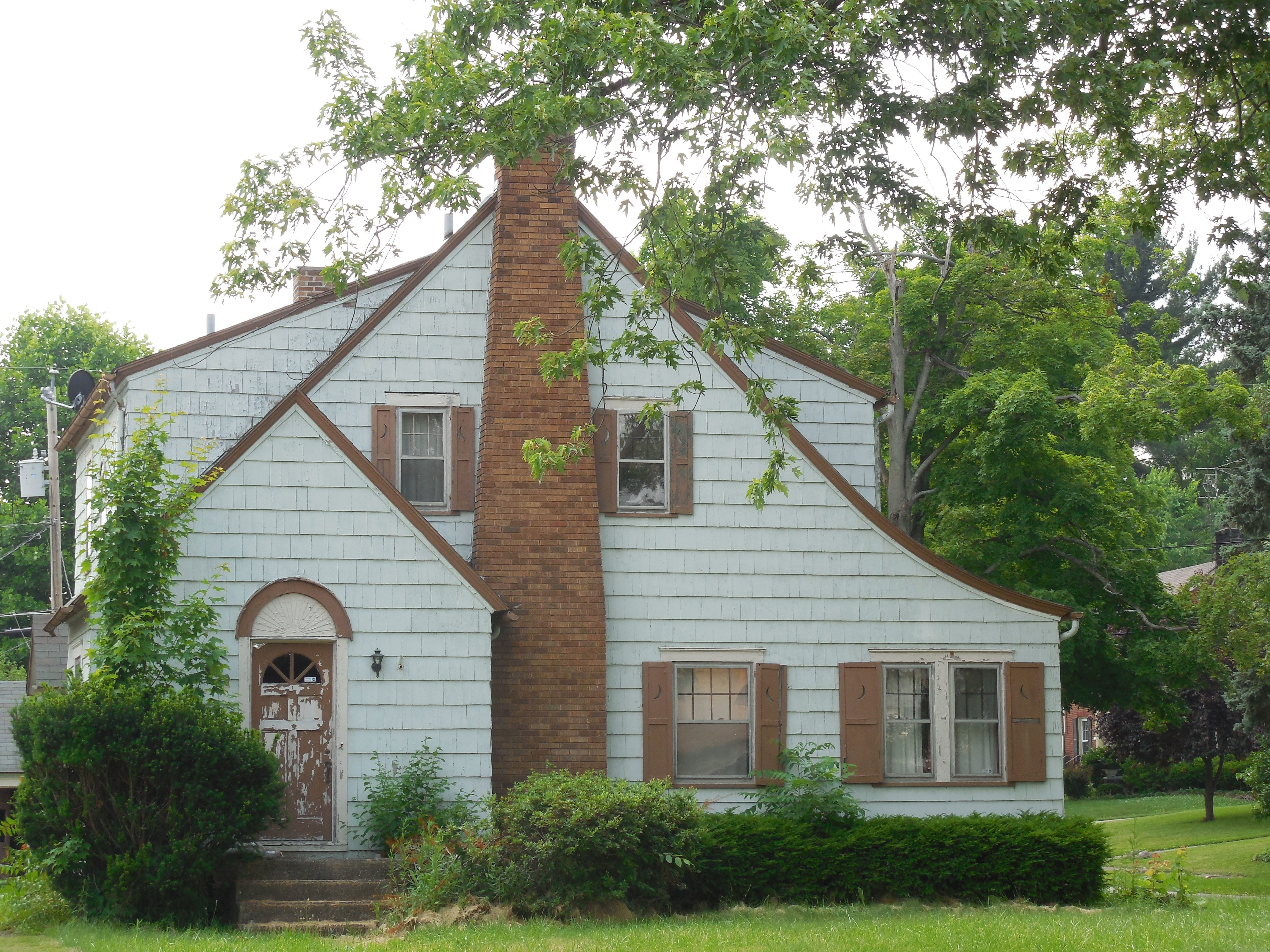 This property was owned by someone in Miami, Florida. It was vacant, tax delinquent, and ultimately acquired by the Land Bank and then transferred to Youngstown Neighborhood Development Corp.