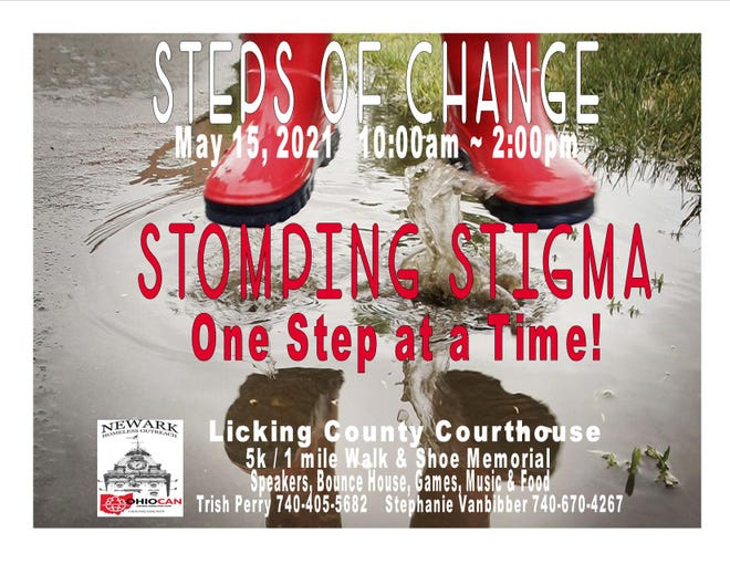 On Saturday, May 15 OhioCAN/Newark Homeless Outreach will host their annual event, Steps of Change. They are starting out the event with a 5k/1 mile Memorial walk at 10:00 a.m. to raise awareness.