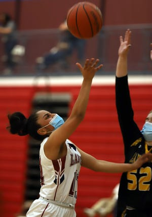 Senior guard Jasmine Lopez led the Lady 'Cats with 11 points in Tuesday's 50-35 loss to the Alamogordo High Tigers.