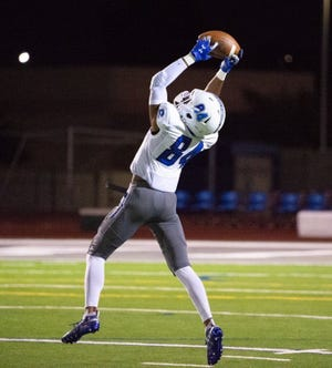 Wide receiver K.J. Taylor, who played last season at Chandler High, was shot and killed in Charleston, West Virginia, according to reports. He was 18. Photo courtesy of Chandler Football
