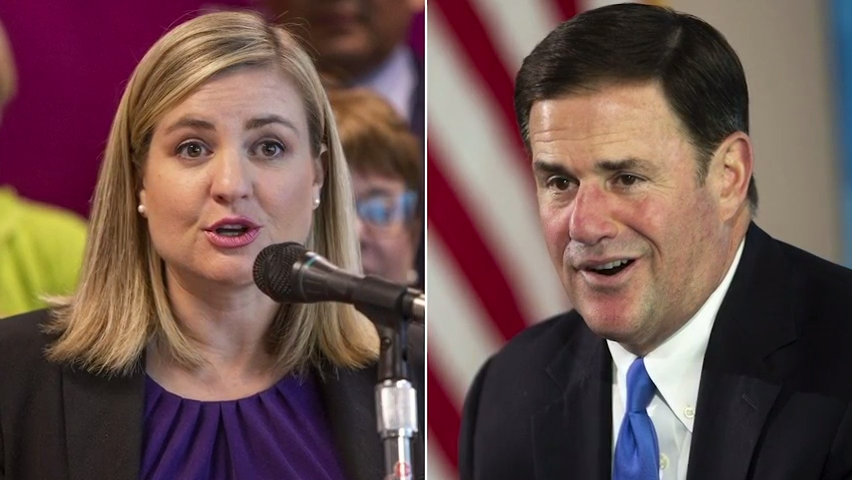 Kate Gallego is sniping Gov. Doug Ducey on masks, even if they agree