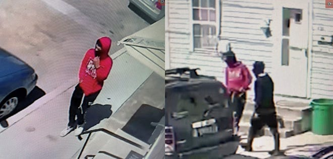 York City Police need help identifying two people involved in a shots fired incident on March 29, 2021