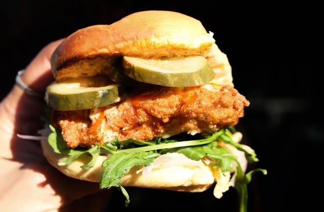 The Crispy Bird Sandwich at Street Bird.