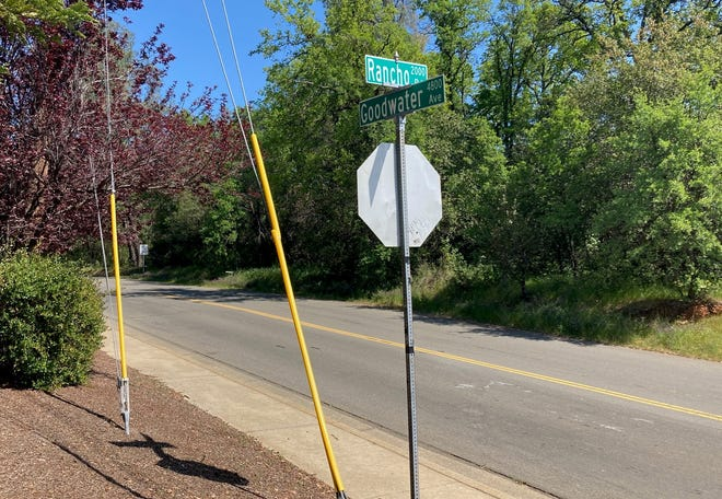 The intersection of Goodwater Avenue and Rancho Road also marks the boundary between Shasta County supervisorial districts 5 and 3. Shasta County officials will be redrawing supervisorial district boundaries this year.