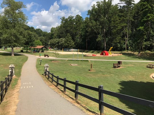 Cleveland Park in Greenville