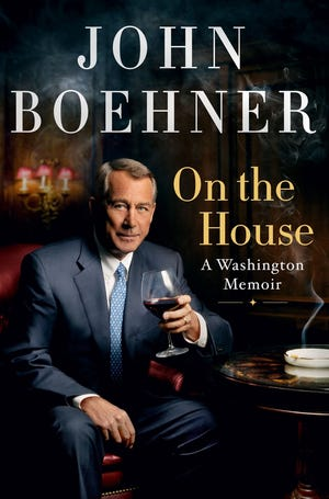 """John Boehner does more roasting than toasting of Republicans in his political memoir, """"On the House."""""""