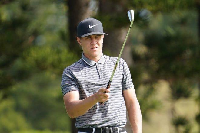 """""""In order for it to grow and in order to see more minorities and people of color out here, something has to change,"""" said biracial golfer Cameron Champ."""