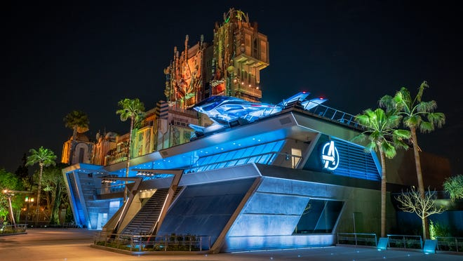 Disney California Adventure Park in Anaheim will have a new land opening June 4: Avengers Campus.
