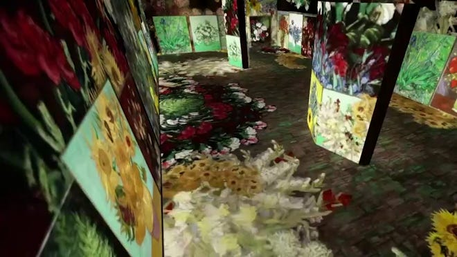 """Beyond Van Gogh: An Immersive Experience"" is headed to the Circuit of the Americas this June."