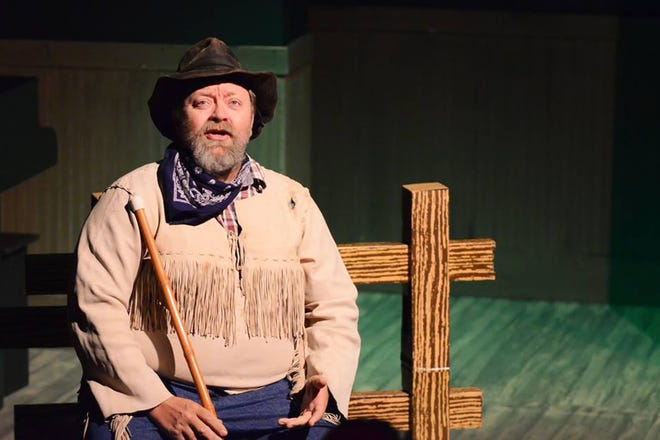 """Actor David Bloyer appears in an Athens Creative Theatre (ACT) production from 2016. Bloyer will be the narrator for the ACT's """"Live Art '21: A Musical Revue"""" event on April 16-17, 2021 in Athens, Ga."""