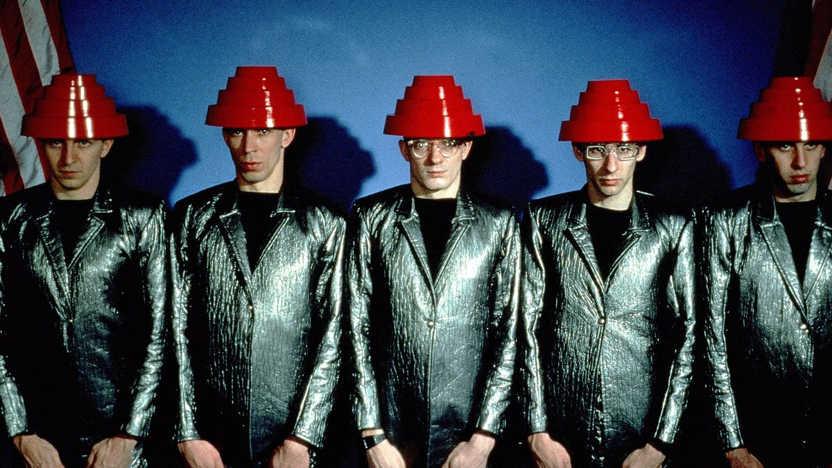 Take a look: Goodyear teams up with Devo on blimp video