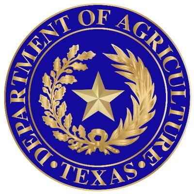 Texas Department of Ag logo