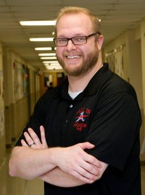 Matthew Lemmon, a math teacher at Alliance Intermediate School, is The Alliance Review's Stark Federal Credit Union Teacher of the Month for April.