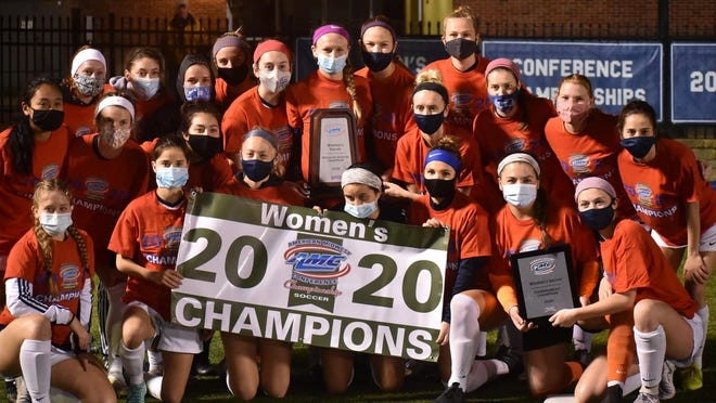 Columbia College women's soccer defeated Missouri Baptist 1-0 on Thursday for its sixth consecutive American Midwest Conference Tournament championship.