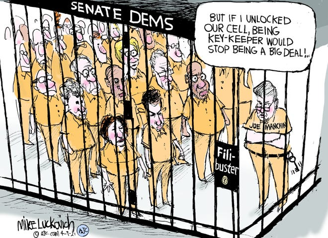 Mike Luckovich for Apr 09, 2021