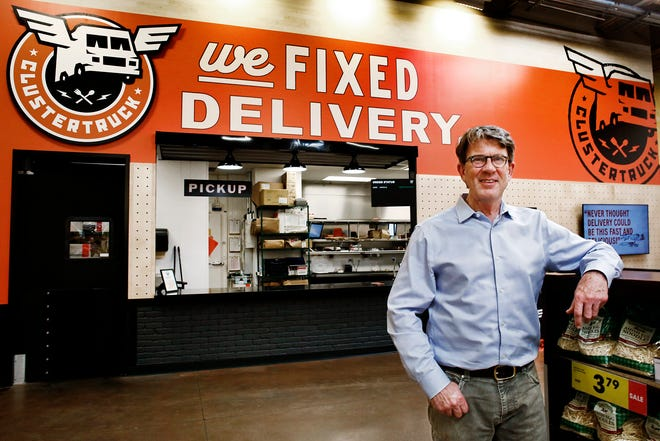 ClusterTruck, led by CEO Chris Baggott, operates out of a Dublin Kroger on Sawmill Road.